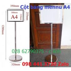 Cột bảng menu A4