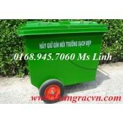 Thùng rác nhựa Composit 480 lít Z480