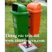 Thùng rác treo đôi 55 Lít Composite  FTR55N2