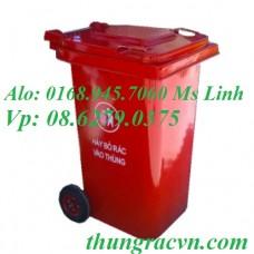 Thùng rác 120 Lít Composite  VX120Đ