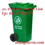 Thùng rác nhựa 120 Lít  nắp kín MGB120K