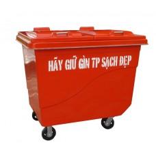 Thùng rác 660 Lít Botech Composite  FTR010
