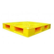 Pallet nhựa hai mặt 1200x1000mm  (tải động- tải tĩnh: 1.5 - 4 tấn)
