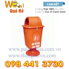 Thùng rác Composite chân nhựa