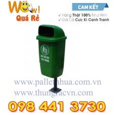 Thùng rác treo đơn Composite 50 Lít