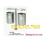 Thùng rác treo inox UM-C60