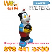 Thùng rác chuột Mickey composite