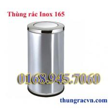 Thùng rác inox tròn 165