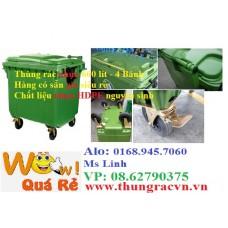 Thùng rác nhựa 660 lít VX660