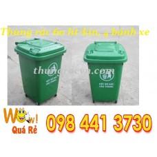 Thùng rác nhựa 60 lít