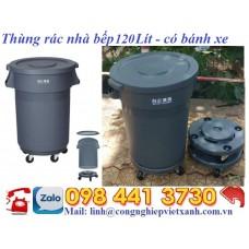 Thùng rác nhà bếp 120 lít