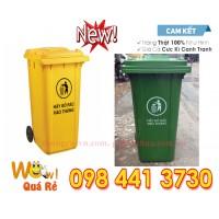 Thùng rác nhựa 240 Lít  mới