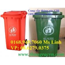 Thùng rác nhựa 240 lít mẫu mới VX240
