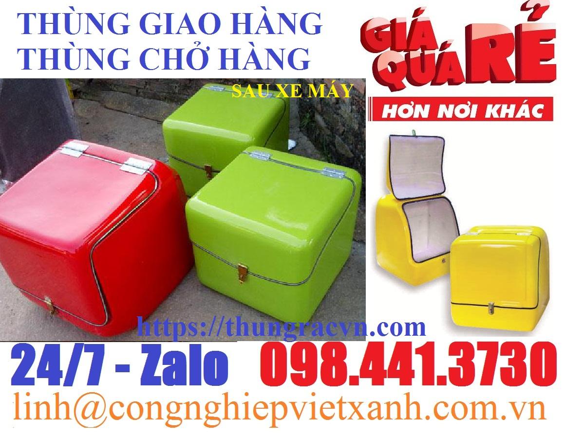 www.123nhanh.com: Thùng chở hàng, thùng giao hàng composite