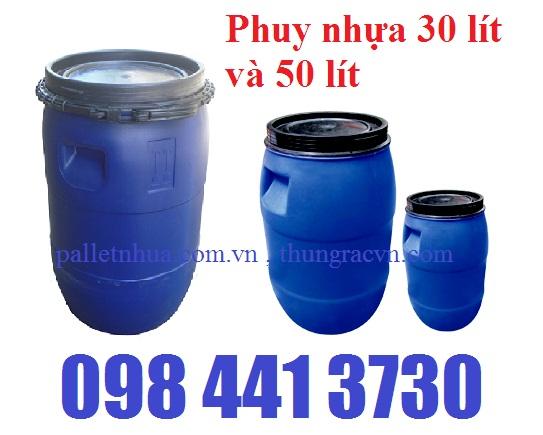 www.kenhraovat.com: Thùng Phuy 30 Lít, Phuy nhựa 50 Lít... giá siêu khuyế